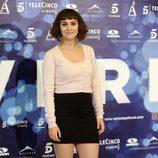 Alba García en la presentación de 'Verbo'