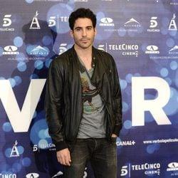 Miguel Ángel Silvestre en la presentación de 'Verbo'