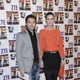 Manuel Martos y Amelia Bono en el concierto de David Bisbal en Madrid