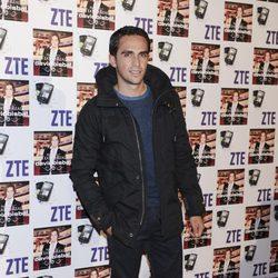 Alberto Contador en el concierto de David Bisbal en Madrid