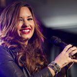Demi Lovato actuando en Nueva York