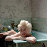 Michelle Williams desnuda en una bañera en una escena de 'My week with Marilyn'