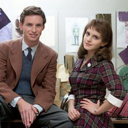 Eddie Redmayne y Emma Watson en la película 'My Week with Marilyn'
