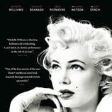 Michelle Williams en el cartel de la película 'My week with Marilyn'