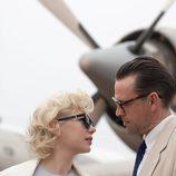 Michelle Williams y Dougray Scott son Marilyn Monroe y Arther Miller en 'My week with Marilyn'