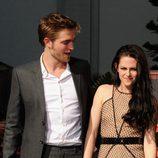 Robert Pattinson y Kristen Stewart en el Teatro Chino de Los Ángeles