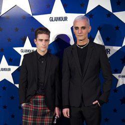 David Delfín y Pelayo Diaz Zapico en los Premios Top Glamour 2011