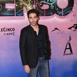 Miguel Ángel Silvestre en el estreno de 'Verbo' en Madrid