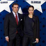 Carolina Adriana Herrera y Miguel Báez 'El Litri' en los Premios Top Glamour 2011
