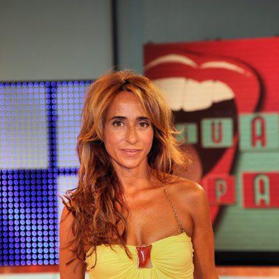 María Patiño, colaboradora de 'Sálvame Deluxe'