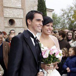 Alberto Contador y Macarena Pescador se han casado