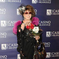 Marujita Díaz en los premios Antena de Oro 2011
