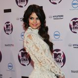 Selena Gomez en los Europe Music Awards 2011