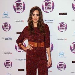 Louise Roe en la alfombra roja de los MTV EMA 2011