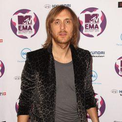 David Guetta en los MTV Europe Music Awards 2011