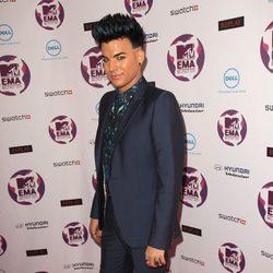 Adam Lambert en los MTV Europe Music Awards 2011