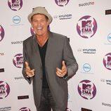David Hasselhoff en los MTV Europe Music Awards 2011