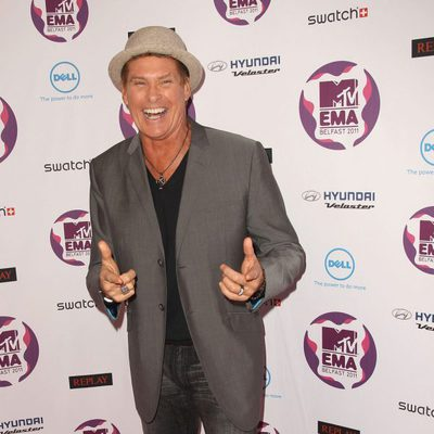 David Hasselhoff en los MTV Europe Music Awards 2011