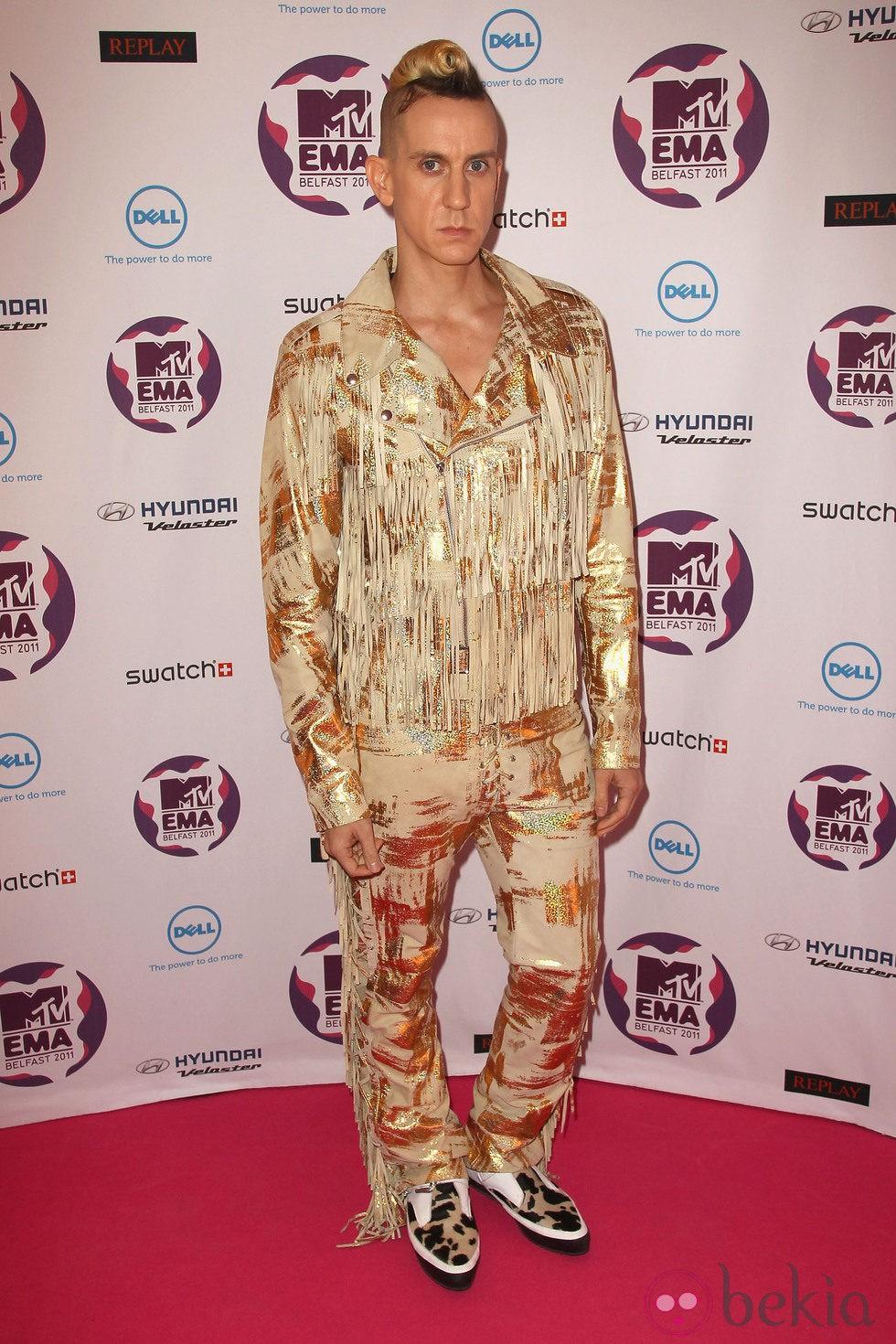 Jeremy Scott en los MTV Europe Music Awards 2011