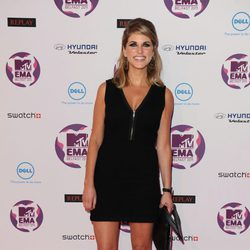 Amy Huberman en los MTV Europe Music Awards 2011