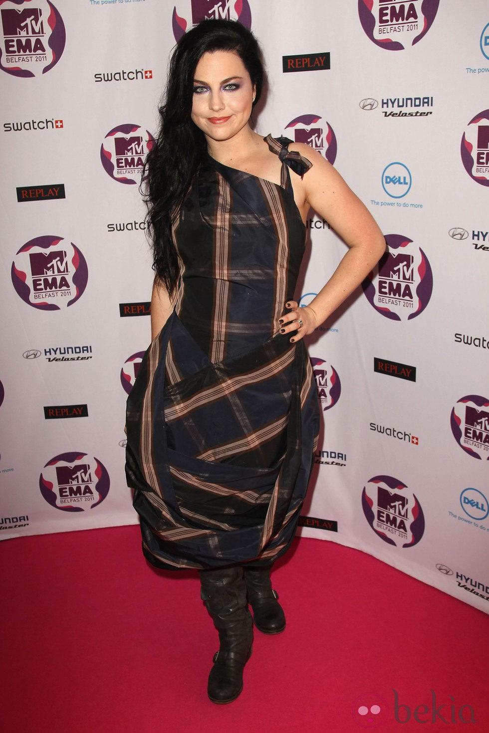 Amy Lee en los MTV Europe Music Awards 2011