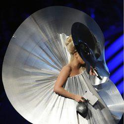 Lady Gaga en la ceremonia de entrega de los MTV Europe Music Awards 2011