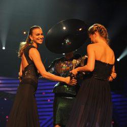 Bar Refaeli, Irina Shayk y Lady Gaga en los MTV Europe Music Awards 2011