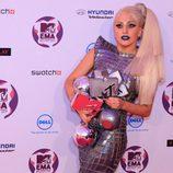 Lady Gaga, flamante ganadora de los MTV EMA 2011