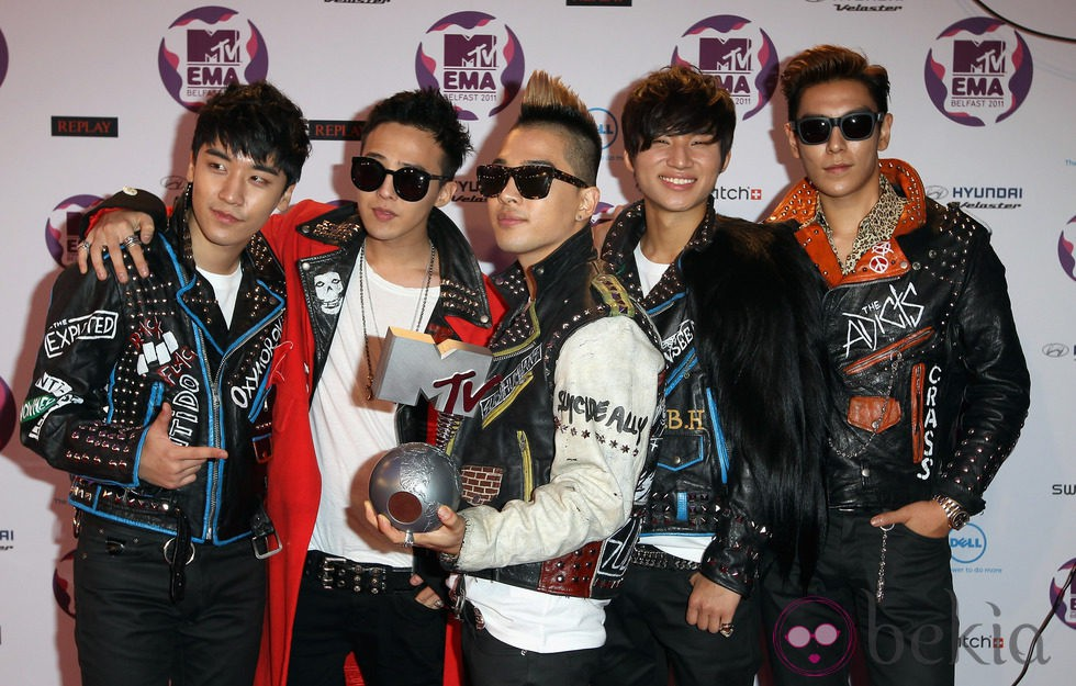 Big Bang en los MTV Europe Music Awards 2011