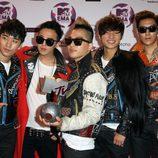 Big Bang en los MTV Europe Music Awards 2011