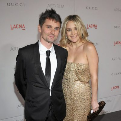 Matthew Bellamy y Kate Hudson en la gala homenaje a Clint Eastwood en Los Angeles