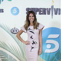 Lara Álvarez en la presentación de 'Supervivientes 2017'