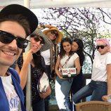 Hiba Abouk, Pelayo Díaz, Rossy de Palma o Viviana Fernández disfrutando de la primavera