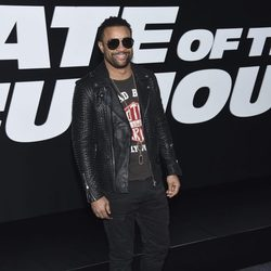 Shaggy en la Premiere de 'Fast & Furious 8' en Nueva York
