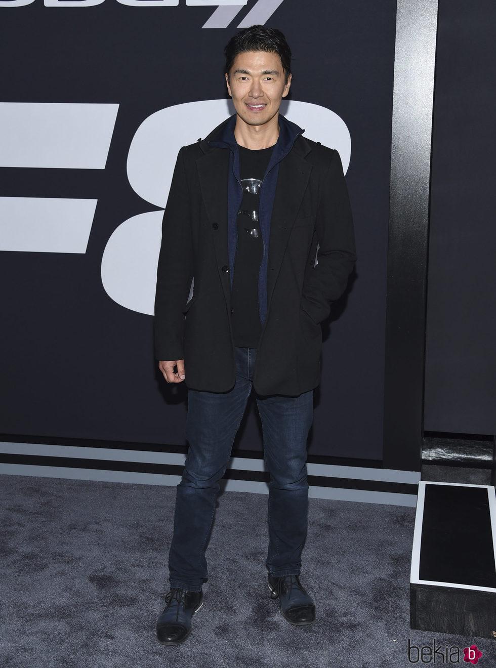 Rick Yune en la Premiere de 'Fast & Furious 8' en Nueva York