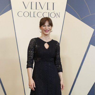 Aitana Sánchez Gijón en la presentación de 'Velvet Colección' en Barcelona