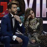 Aylén Milla a punto de llorar junto a Marco Ferri en la final de 'GHVIP5'