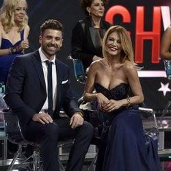 Ivonne Reyes y Sergio Ayala en la final de 'GHVIP5'