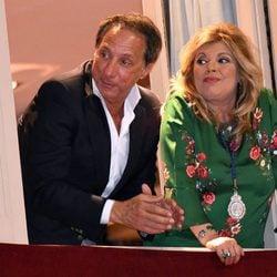 Terelu Campos y Alejandro Rubio en Málaga en Semana Santa 2017