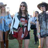 Alessandra Ambrosio en el festival Coachella 2017