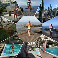 Belén Esteban paseando palmito en bikini por Tenerife en Semana Santa