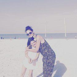 Katie Holmes disfruta de la Pascua junto a su hija Suri Cruise