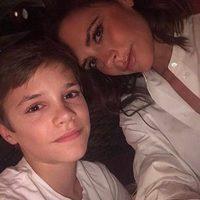 Romeo Beckham felicita el cumpleaños a su madre