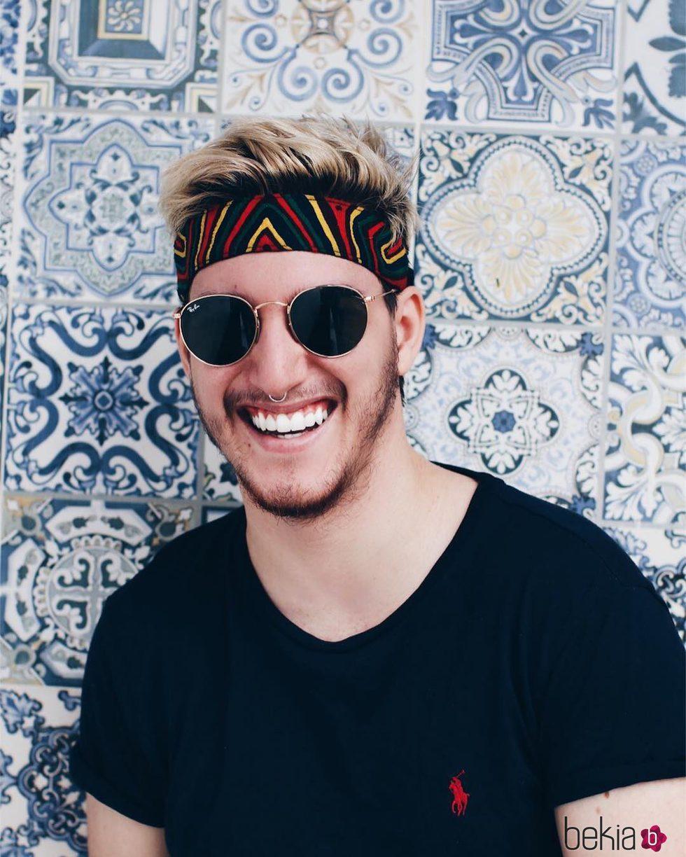 Aldo Palmieri nunca pierde la sonrisa