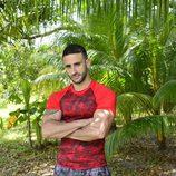 Eliad Cohen posando como concursante de 'Supervivientes 2017'