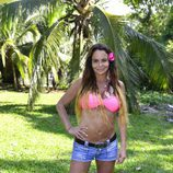 Leticia Sabater posando como concursante de 'Supervivientes 2017'