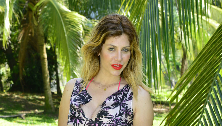 Paola Caruso posando como concursante de 'Supervivientes 2017'