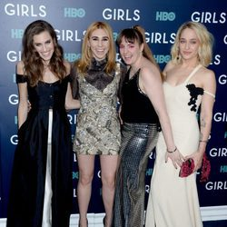 Lena Dunham, Allison Williams, Zosia Mamet and Jemima Kirke: protagonistas de 'Girls'
