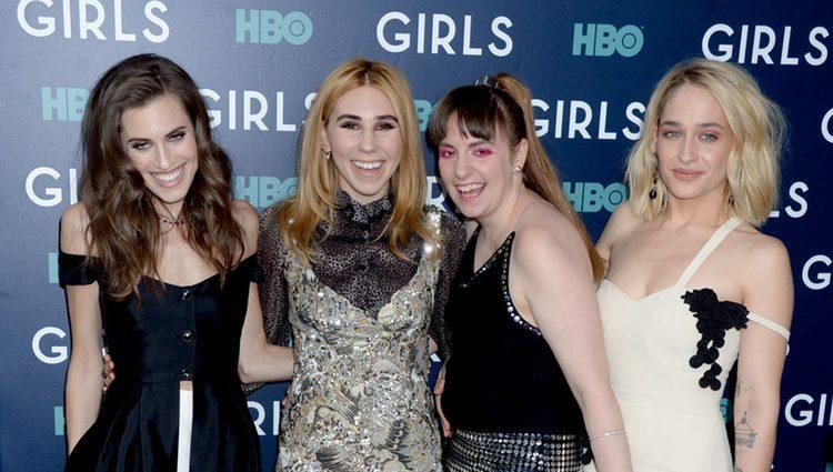 Lena Dunham, Allison Williams, Zosia Mamet and Jemima Kirke: protagonistas de 'Girls'