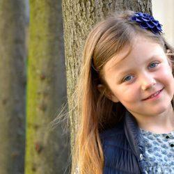 Isabel de Dinamarca posa muy sonriente